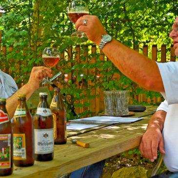 Zwei Biersommeliers beschreiben die vier Forchheimer Festbiere