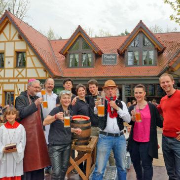 Das Kreuzbergfest zum Jubiläumsjahr 2016 wartete mit vielen Attraktionen auf