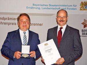 Norbert Winkelmann erhält zum zweiten Mal den Staatsehrenpreis